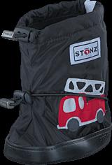 Stonz - Stonz Booties Fire truck - Black