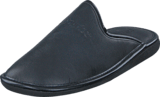 Hush Puppies - Leather Slipper Black