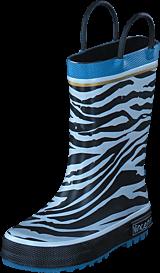 Vincent - Zebra Gold Blue