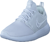 Nike - Roshe Two Br White/white-glacier Blue