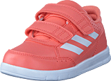 adidas Sport Performance - Altasport Cf I Chalk Coral/Ftwr Wht/RealCoral