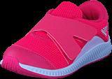 adidas Sport Performance - Fortarun X Cf I Chalk Blue/Aero Pink/Ftwr Wht
