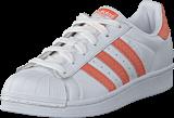 adidas Originals - Superstar W Ftwr White/ChalkCoral/OffWhite