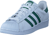 adidas Originals - Superstar Ftwr Wht/Collegiate Green/Wht