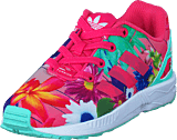 adidas Originals - Zx Flux El I Real Pink S18/Ftwr White