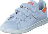 adidas Originals - Stan Smith Cf W Crystal White/Trace Orange S18