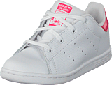adidas Originals - Stan Smith I Ftwr White/Real Pink S18