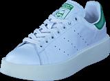 adidas Originals - Stan Smith Bold W Ftwr White/Ftwr White/Green