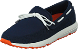 Swims - Breeze Leap Laser Lace Navy/White/Orange