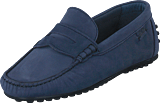 Marstrand - Driving Loafer Nbk Blue