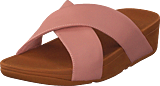 Fitflop - Lulu Cross Leather S Dusky Pink
