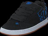 DC Shoes - Court Graffik Black/Black/Blue