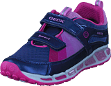 Geox - Jr Shuttle Navy/fuchsia