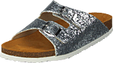 Bianco - Glitter Bio Sandal Silver