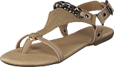 Bianco - Triangle Chain Sandal Sand