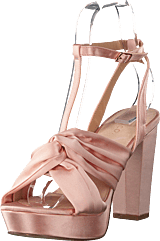 Bianco - Satin Strap Sandal Powder