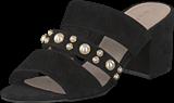 Bianco - Pearl Strap Sandal Black