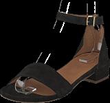 Bianco - Classic Suede Sandal Black
