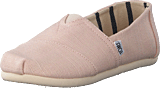 Toms - Alpargata Youth Pink Whisper Heritage Canvas