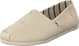 Toms - Alpargata Antique White Heritage Canvas