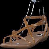 Crocs - Isabella Gladiator Sandal W Dark Gold/gold
