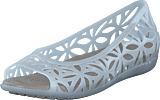 Crocs - Isabella Jelly Ii Flat W Oyster/cobblestone