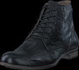 Sneaky Steve - Dirty Mid Black Leather