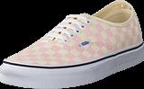 Vans - Ua Authentic Checker Chalk Pink/white
