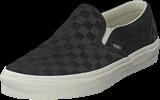 Vans - Ua Classic Slip-on Checker Black/marshmallow