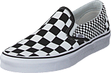 Vans - Ua Classic Slip-on Mix Checker Black/white