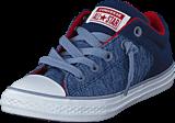 Converse - Ct All Star High Street Slip Navy/glacier Grey/white