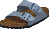 Birkenstock - Arizona Regular Birkoflor Graceful Silver