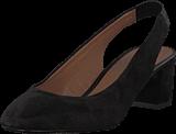 Pieces - Psmalva Suede Shoe Black